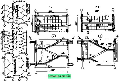каркасно-панельных зданиях